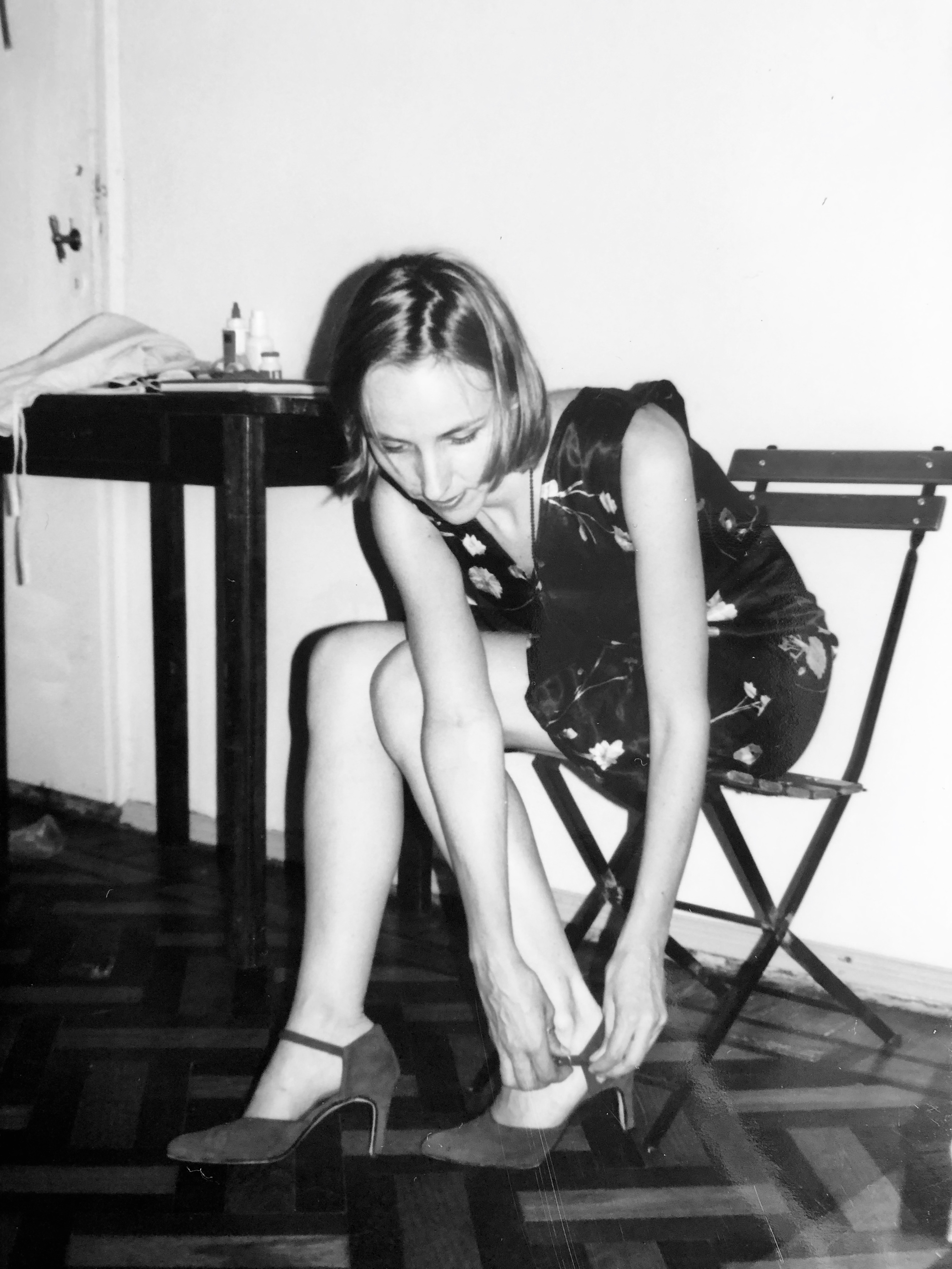 Pascale découvre le tango en 1990